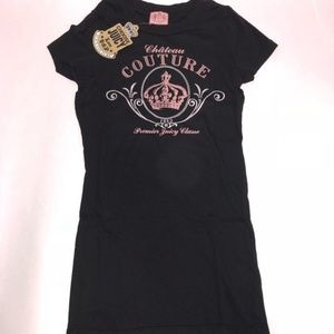 Juicy Couture Pink Crown Tee (Size: P(XS)-S)